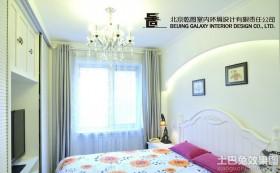 简欧风格超小卧室装修效果图