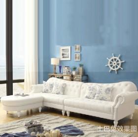 别墅客厅地中海风格家具图片