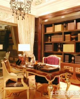 新古典风格书房装修图片