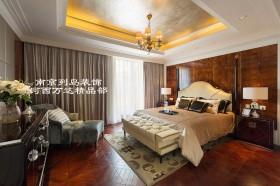 欧式风格二居室主卧室装修效果图