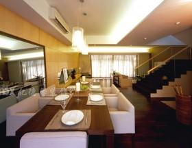 现代风格复式楼餐厅装修效果图大全