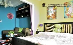 现代一居室装修图片