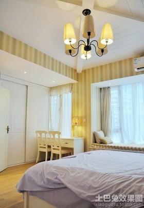 简约小户型卧室设计装修效果图