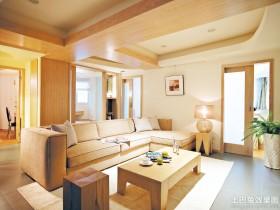 混搭二居客厅沙发茶几图片