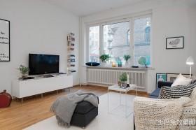 北欧小户型电视柜效果图