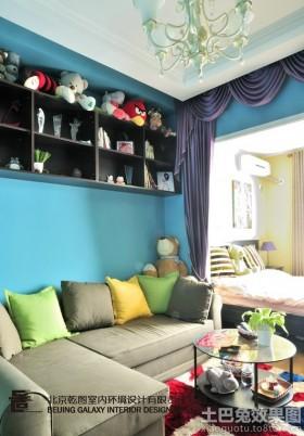 现代一居室小户型装修图