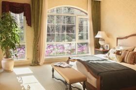 混搭风三居室卧室装修效果图