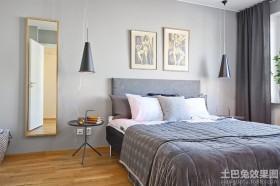 单身公寓卧室装饰效果图