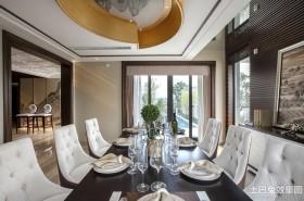 新古典风格别墅餐厅效果图片
