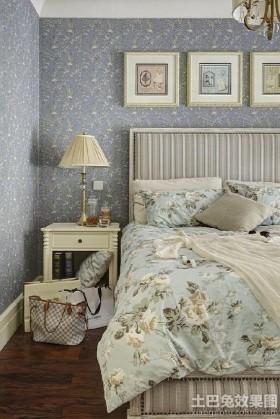 田园风格二居卧室效果图