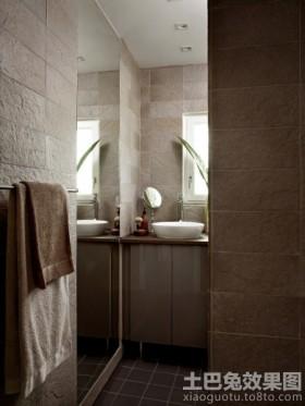 公寓式住宅卫生间效果图片