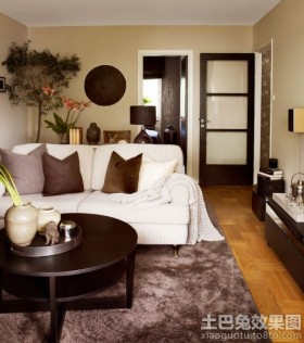 公寓式住宅客厅效果图