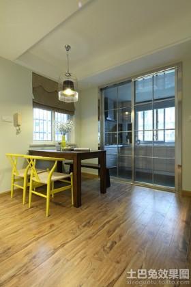 中式混搭风格两居室餐厅装修效果图