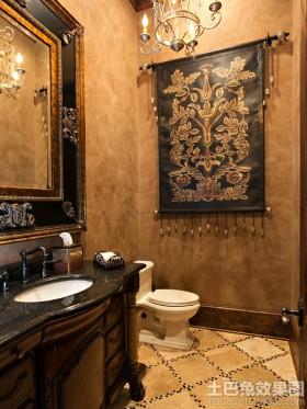 卫生间挂毯图片