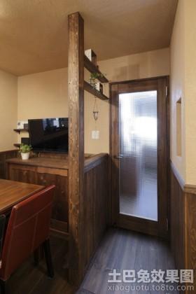美式乡村风格室内门装修效果图