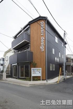 日式小别墅外观效果图
