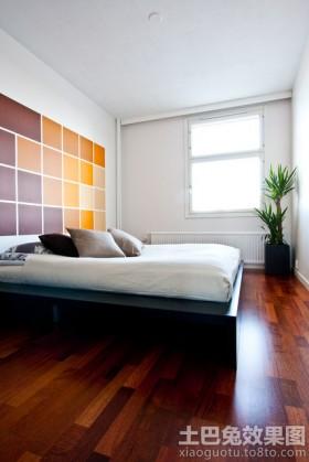 简约风格二居卧室榻榻米床效果图