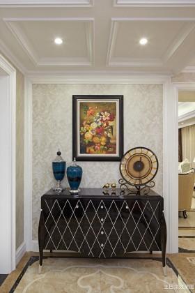 玄关吊顶欧式新古典玄关柜装饰效果图大全