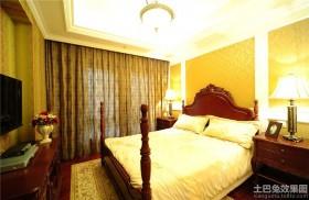 卧室落地窗帘设计效果图欣赏