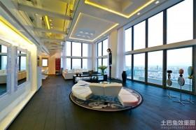 现代豪华顶层公寓效果图