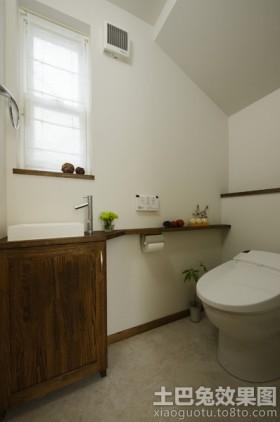 日式小卫生间装修效果图欣赏