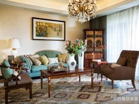 混搭风格小户型客厅装饰画效果图