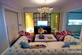 一居室客厅装修效果图大全2013图片