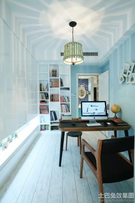 地中海风格书房设计效果图片