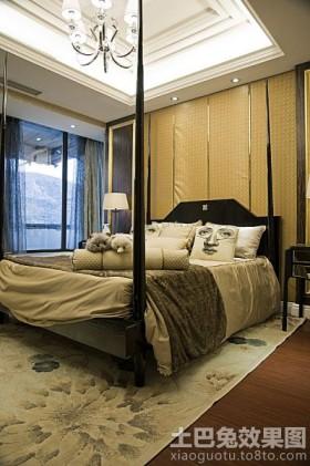 新古典主义风格二居卧室效果图