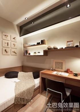 日式风格二居小卧室效果图