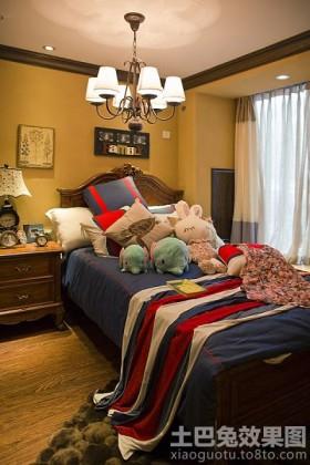 美式二居儿童房间设计