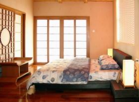 日式风格二居室卧室装修效果图