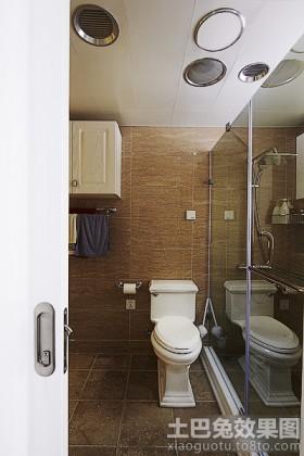 家庭卫生间装修效果图2014