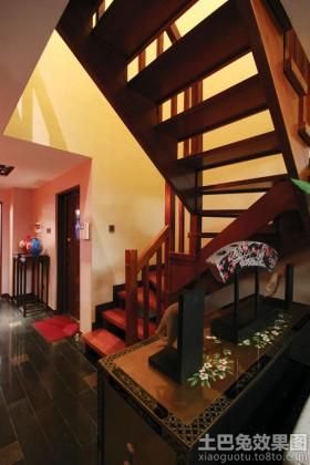 别墅楼梯装饰效果图大全