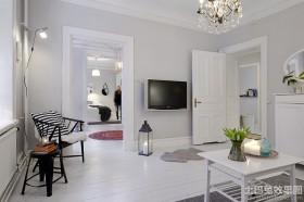 北欧风格电视墙效果图片