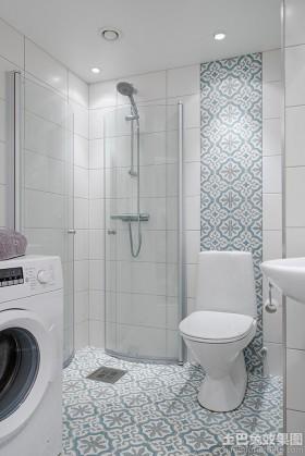 家装卫生间背景墙效果图片欣赏