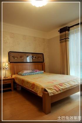 美式风格二居卧室装修效果图片