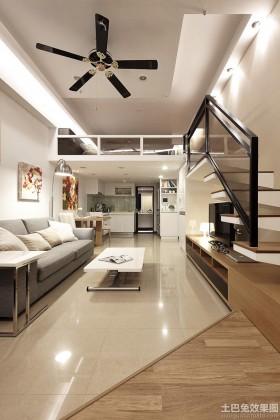 loft小户型家居设计效果图