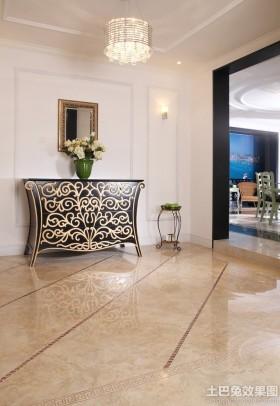 新古典装修地板砖效果图