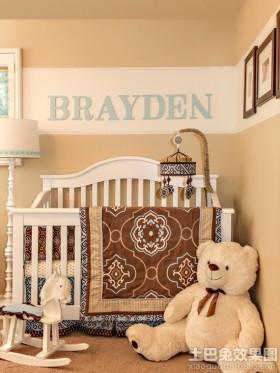 婴儿房装饰效果图