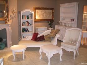 家装白色欧式家具图片
