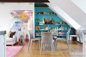 斜顶公寓餐厅装修效果图片
