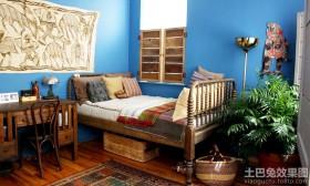 北非风格二居卧室效果图