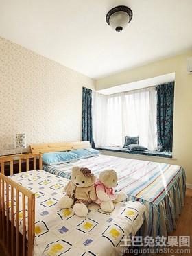 混搭风格小户型卧室飘窗效果图