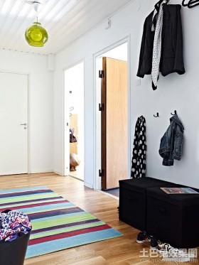 公寓玄关鞋柜装修效果图片