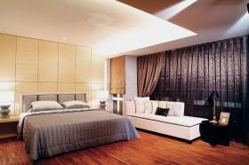 大户型简约风格卧室背景墙装修效果图大全