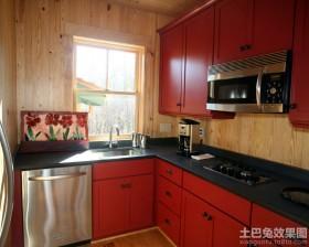 开放式厨房颜色效果图