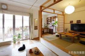 日式家庭榻榻米装修效果图