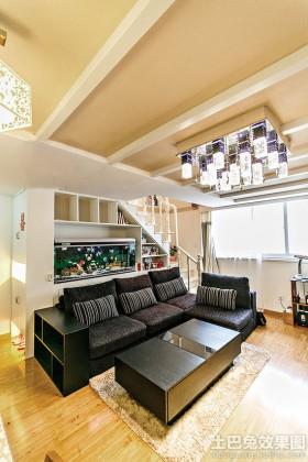 loft户型一居室装修效果图
