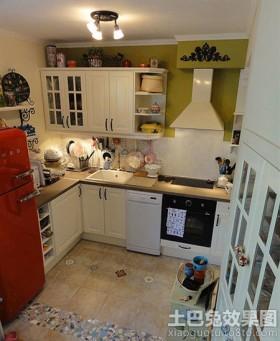 宜家风格小厨房设计效果图